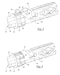 Patent us6419288 door latch assembly with accelerated bolt