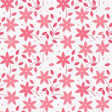 Het Mooie Naadloze Patroon Met Roze Die Bloemen En Bladeren Op