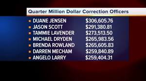 Officials respond to report finding Las Vegas corrections officers among  highest paid in nation