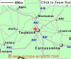 toulouse blagnac airport france tls