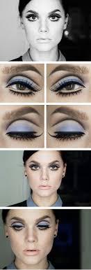 mod makeup by linda hallberg like this look try ben nye s pressed eyeshadow in cinderella blue