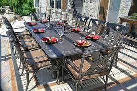 cast aluminum outdoor dining set the most 8 person luxury cast aluminum patio furniture dining set