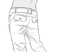 服の描き方ズボンデニムチノパンの描き方 面倒くさがりなマサの