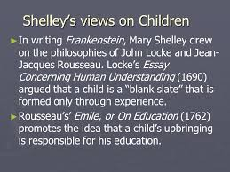 frankenstein volume i analysis ppt video online  8 shelley s views on children