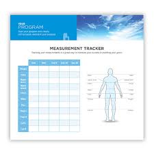isagenix measurement tracker large fridge magnet design 1