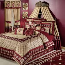 Maroon Curtains For Bedroom Luxury Bedding Comforter Sets Touch Of Class