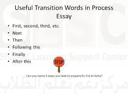 how to and respond to a writing prompt ppt video online  useful transition words in process essay