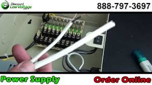 how to cable a cctv surveillance camera power supply how to cable a cctv surveillance camera power supply