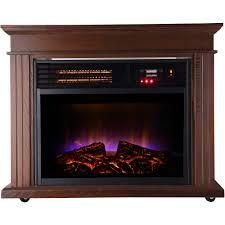 lifesmart lifepro dark oak 1500 watt infrared electric portable space heater com