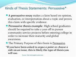 thesis statements 2007 18