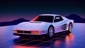 1986 Ferrari Testarossa In All Its Retro Glory Outrun