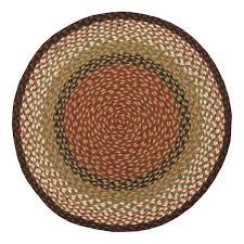 burdymustard braided jute 7 foot round rug round burdy rug