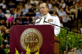 u s department of defense photo essay  navy adm mike mullen chairman of the joint chiefs of staff addresses graduates