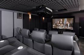 Theater Home Theaters And Rooms On Pinterest  Idolza - Interior design for home theatre