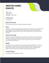 Minutes - Office.com