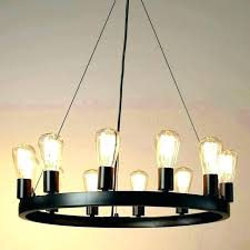 edison bulb chandelier uk light fixtures fancy country wrought iron vintage round