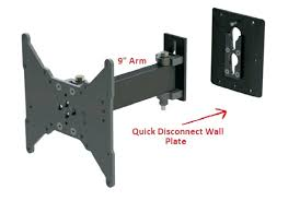latest swing out tv mount x3028054 mount removable wall mount removable face plate swing arm disconnect