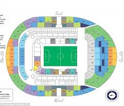 Spurs Stadium Seating Chart 36 Hand Picked West Ham Stadium Seating Chart