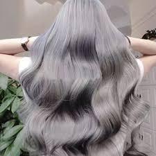 Us 389 15 Offgrijs Haarverf Rokerige Grijze Punk Stijl Haarkleuring Natuurlijke Plantaardige Mode Haarverf Lichtgrijs Kapsel Crème Voor Mannen
