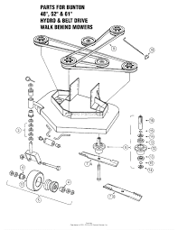Bunton mower parts diagram portrayal zoom