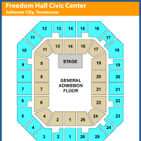 Freedom Hall Civic Center Events And Concerts In Johnson