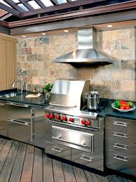 Bbq Outdoor Kitchen Kits Optimizing An Outdoor Kitchen Layout Hgtv