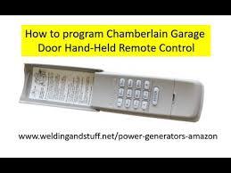 chamberlain garage door opener keypad