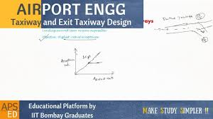 Runway Design Ppt Taxiway Exit Taxiway Design Airport Engineering