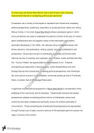 brave new world essay topics co brave