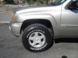 trailblazer tire size