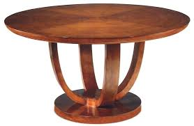 small round pedestal dining table with leaf