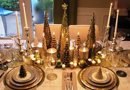 ... Stunning Wedding Table Decoration With Yellow Centerpiece Decor :  Exciting Gold Christmas Tree Yellow Centerpiece Decor ...