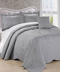 Damask Embroidered Quilted Bedspread Set | BNF Home Inc & Damask Embroidered Quilted Bedspread Set Adamdwight.com