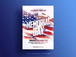 Memorial Day Flyer Template By Rome Creation On Dribbble