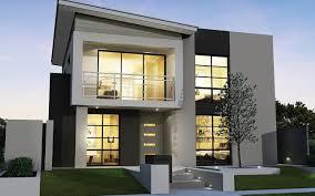 contoh desain rumah minimalis 2 lantai modern trend 2014 terbaru
