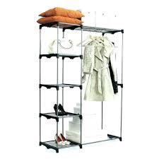 extraordinary whitmor closet double rod freestanding closet cover double rod freestanding closet gray home ideas