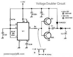 dc voltage doubler circuit diagram ireleast info 12v dc voltage doubler circuit power supply circuits wiring circuit