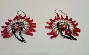 Native American Beaded Earrings Patterns Free Unique Decorating