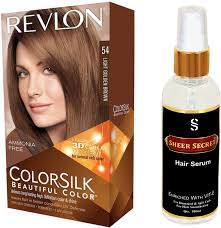Revlon 54 Light Golden Brown Revlon Light Golden Brown Hair Colour No 54 With Sheer