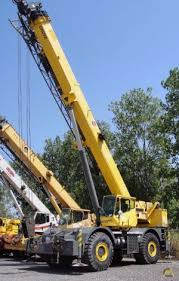 Rough Terrain Cranes Grove Rt875 Series Specifications