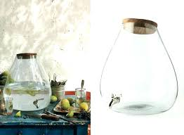 large glass drink dispensers large glass water dispenser with spigot gallery beverage large glass drinks dispenser