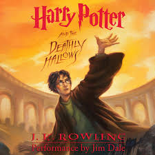 harry potter and the ly hallows audiobook cover