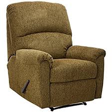 ashley furniture signature design pranit recliner manual reclining chair walnut brown ashley furniture recliner chairs t25
