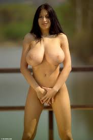 Natural breast naked women