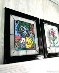 hanging stained glass hanging stained glass window minimalist excerpt white frame hanging stained glass window minimalist