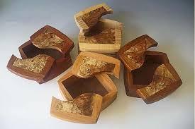wooden keepsake box the split top