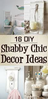 16 diy shabby chic decor ideas