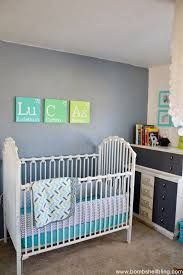 This retro nursery is the best!