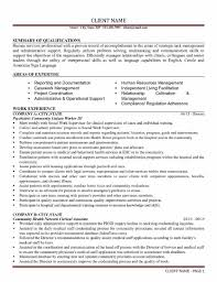 Human Service Resume Services Resume 1