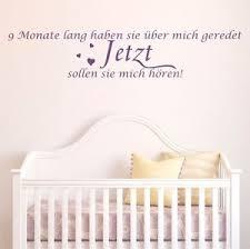 9 Monate Lang Wandtattoo Kinderzimmer Sprüche Baby Kinder Herzen